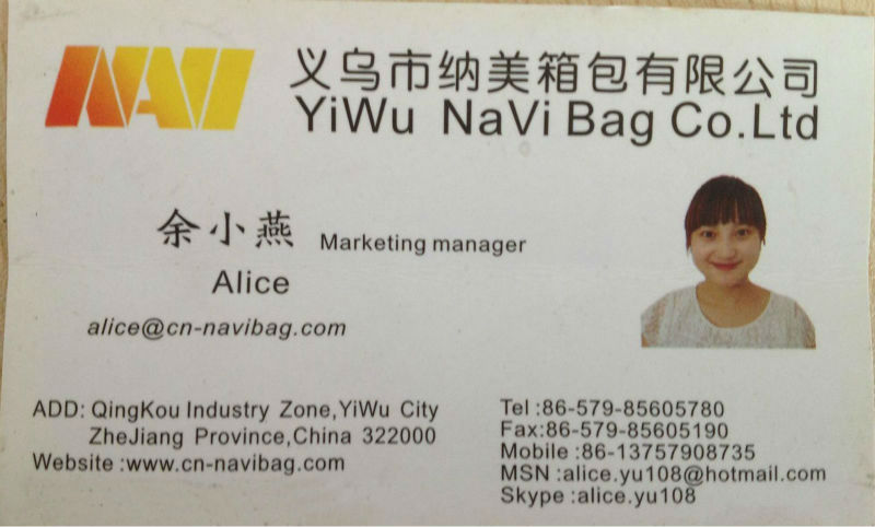 Promotional eco friendly tote bag(NV-TO002)