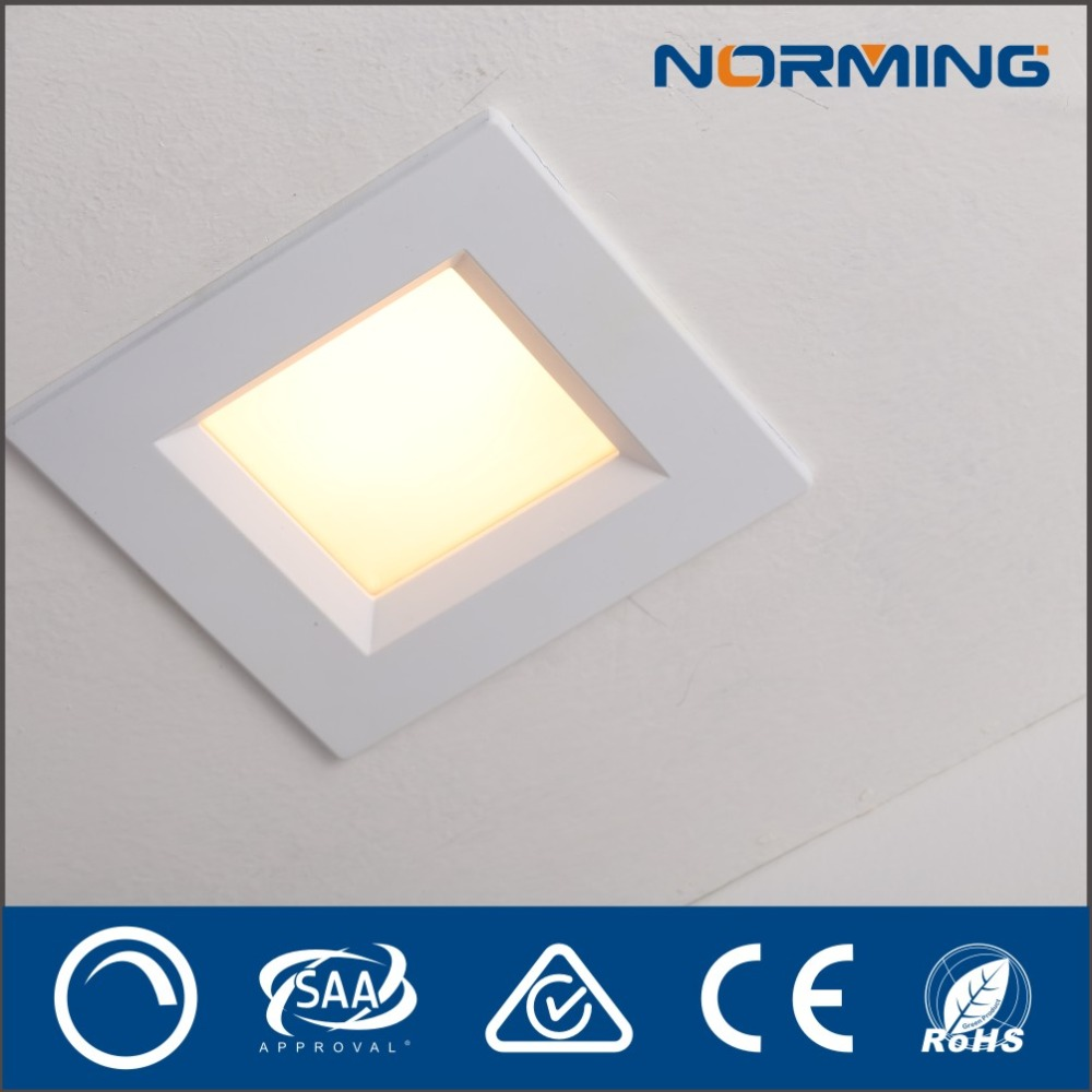 Indoor Residential Lighting IP44 Square LED Panel Recessed Led Down light 2700K Dimmable led panel light