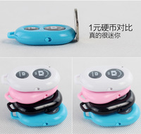 2014 Self-timer Camera Shutter Kit Bluetooth Remote Control for Phones