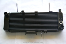 China all aluminum oem motorcycle radiator manufacturer