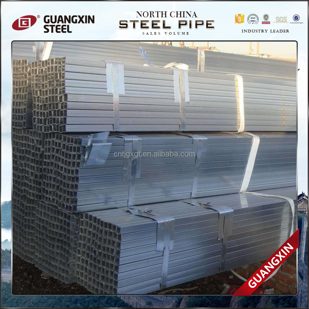 astm a369 pre galvanized rectangular tubes/welded steel pipe