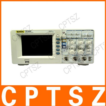 Rigol DS 1052E 50 MHz 2 Channel Digital Color Storage Oscilloscope