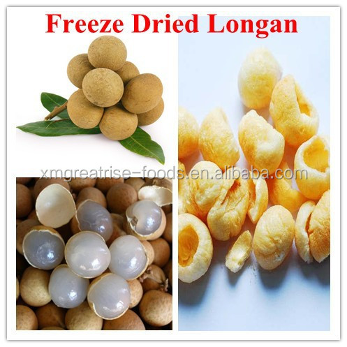 Freeze Dried Longan fruit for snack and bakery