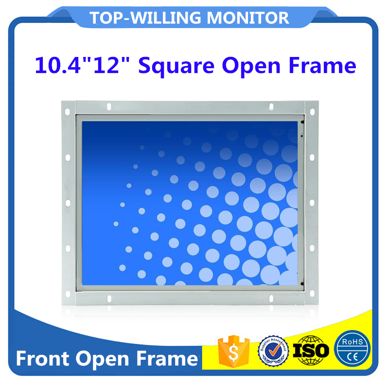 Cheap 12 inch TFT Color LCD Touch Screen Open Frame Monitor for Embedded Kiosk