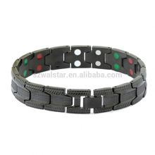Unisex Style Titanium Hypoallergenic Negative Ion Producing Powerful Magnetic Bracelet