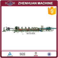 Hydraulic drawing machine for copper bar and copper rod