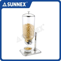 SUNNEX Hotel & Resturant 7Ltr. Container ideal for Food Service Catering Cereal Dispenser