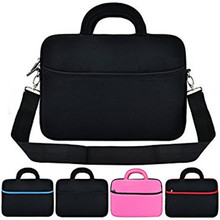 13 Inch Neoprene Laptop Sleeve with Handle Strap Shoulder Bag for Chromebook Laptop and Ultrabook Laptop Sleeve Case