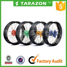 Tarazon anodized aluminium alloy motorcycle wheel rims