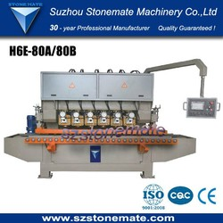 With touch screen easy to control edge profiling machine with multi-head