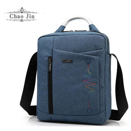CoolBell Brand Casual Fashion Bag for iPad Air 2 3 iPad Mini iPad 4 Men Women Tablet Bag 8,10.6,12.4 inch Laptop Messenger Bag