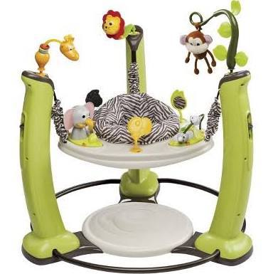 Evenflo ExerSaucer Jump & Learn Active Learning Center (Jungle Quest)