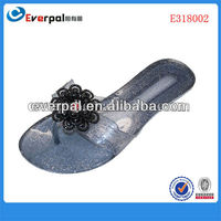 New style jelly sandal fashional hot sale women fashion nude beach slippers 2013
