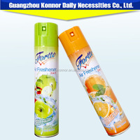 good quality fruit smell room air freshener ,aerosol car air freshener