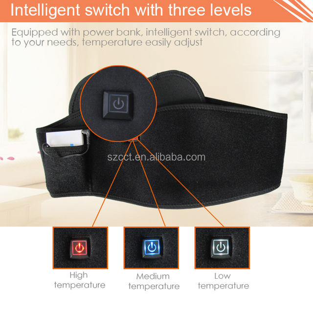 new products for health heating belt with good quality