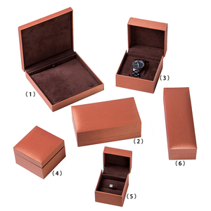 JOFO Recyclable Feature And Leatherette Paper Jewelry Packaging Box Necklace Earring Bracelet Watch Holder Gift Box
