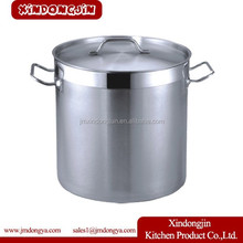 YK-2020 Cheap Factory Tall Straight-shaped Non-magnetic stainless steel stockpot/commercial stock pot/soup bucket