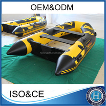 Wholesale 300cm inflatable aluminum boat for fishing