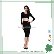 Ifree unique design cheap winter bandage dress for wholesale