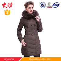 cheapest customized top quality women down jacket for the winter germany fur coats