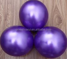 advertising party metallic latex round shaped latex the printing latex balloon