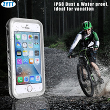 for iPhone SE Waterproof Cases, Water proof Case for iPhone SE/5/5s Full body IP68 Waterproof Cover