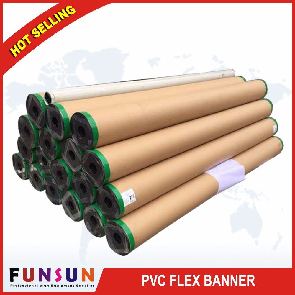 Frontlit Glossy /backlit Pvc media flex Advertising Materials