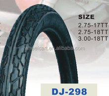 used motorcycle tubeless tire 3.00-18