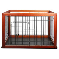Wood Pet Pen 60x50x50cm animal cage
