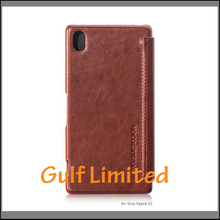 HOCO leather case flip mobile case for Experia z2