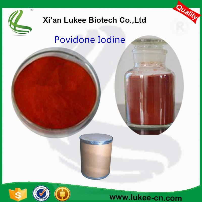 Iodine Povidone Disinfectant PVP-Iodine Powder (CAS 25655-41-8) Povidone-Iodine 10% First Aid Antiseptic Solution
