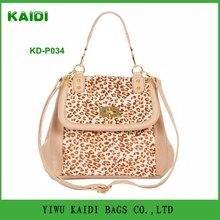 KD-P034 2012 classic and fashion lady leopard handbag
