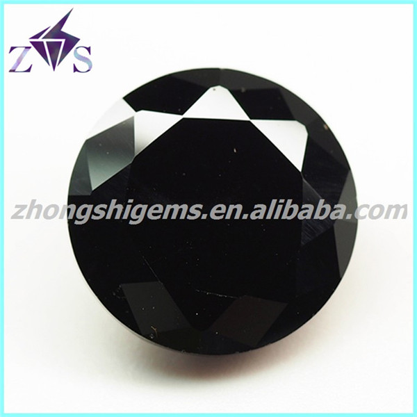 Round Diamond Cur Zircon Names Of Black Precious Stones