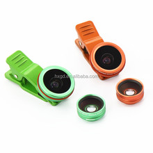 4 in 1 mobile phone lens 0.35x super wide angle 0.65x wide-angle macro lens