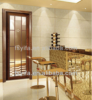 2014 high quality aluminum indian main door designs home made in china