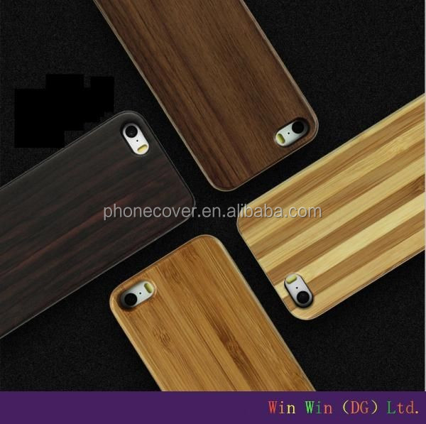 blank wood case for iphone,3d feeling wooden cover for iphone 5S