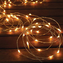 New style solar powered string lights Christmas party outdoor garden lighting
