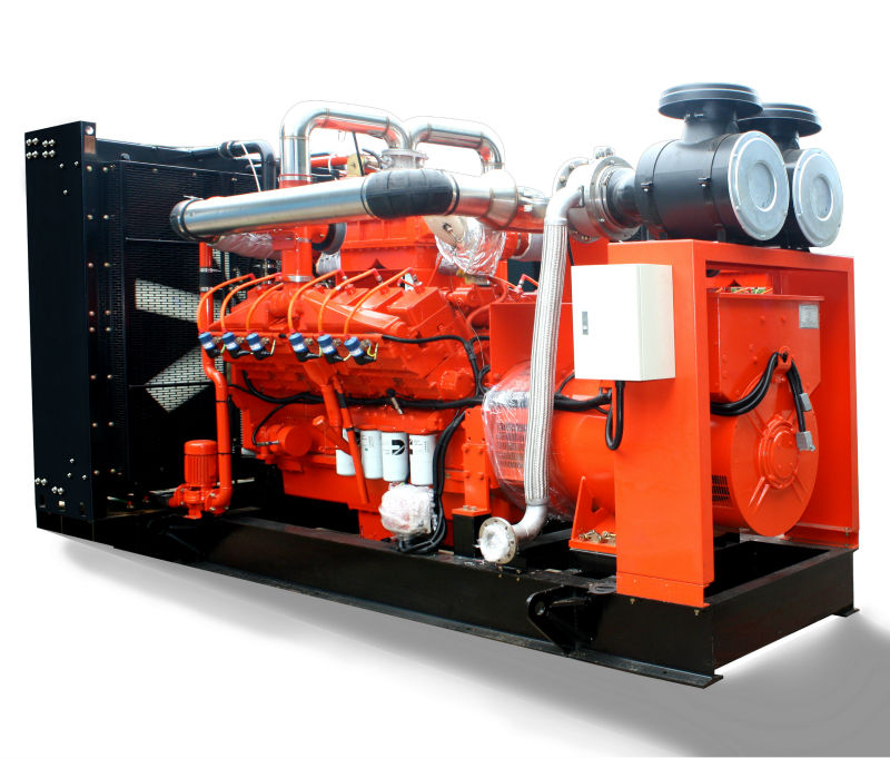 Camda H Series natural gas/biogas generator sets 500kva/400kw with CHP system