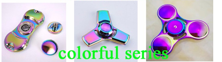 Most popular metal Hand Spinner aluminum spinner For Autism and ADHD