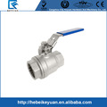"1000 WOG 1/2"" All 304 Full Port S.S. Lockable Ball Valve"