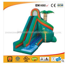 cheap inflatable jumping castle with a small pool/inflatable water slide