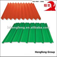 Cold Rolled Galvanized Corrugated Metal Sheet Roofing