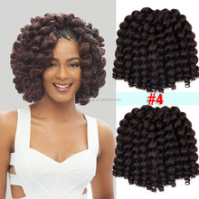 2x value model jumpy wand curl crochet bounce twist braiding hair for balck women