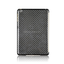 100% Hand-made Slim Cool For iPad Mini 3 Tablet Fiber Black Cases