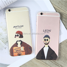 Wholesale simple elegant mobile phone case for iphone 6/7 case tpu