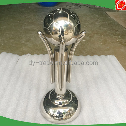 Football League Shiny Metal Custom Trophies