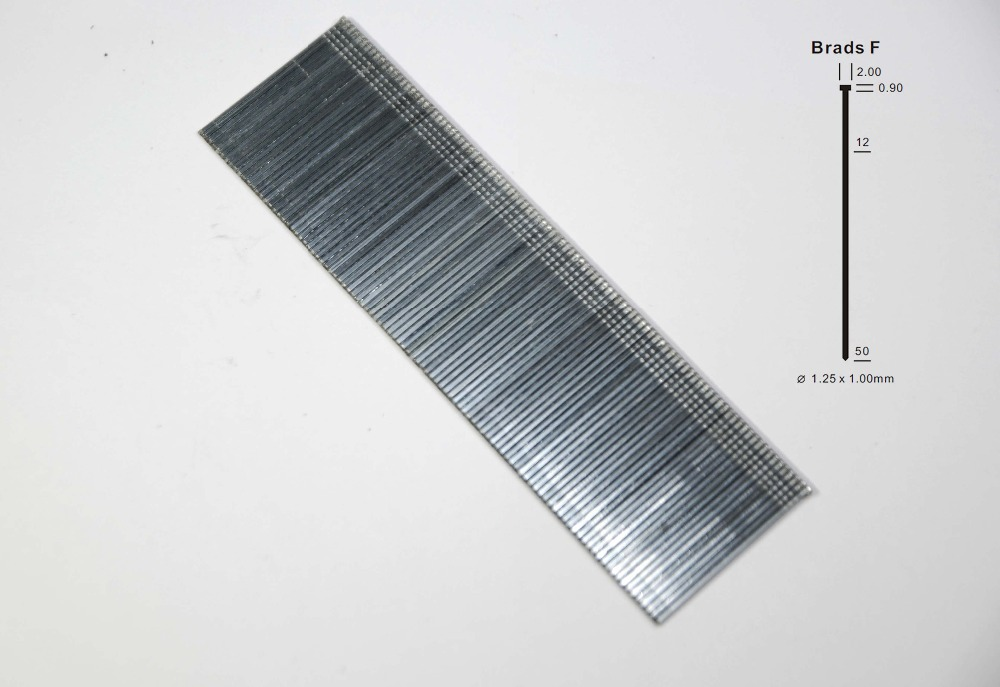 Hlwj SGS approval exporting standard 18 gauge F type wire brad nails