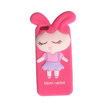Custom design fashion cheapest 3d silicone phone case for iphone 5c
