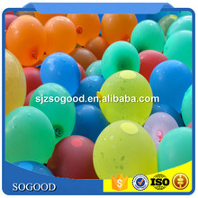 Factory Hot Sale 3 Inch Latex Water Balloons Fill In 1 Minute 37 Pcs Bunch O Water Balloon For Kids Toys