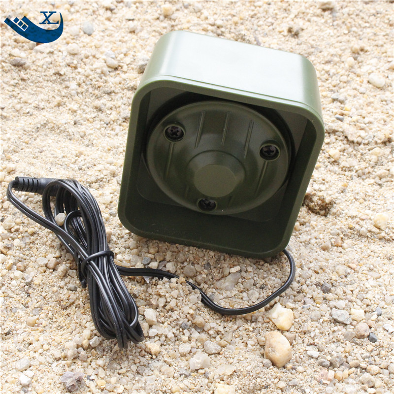 35W 125dB Loud Speaker Goose Duck Gull Hunting Decoy Bird <strong>Mp3</strong> Sounds Player With 3.5 Audio Cable